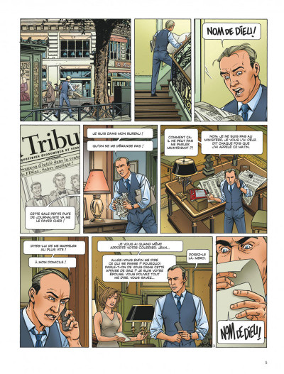 Page 5 Dantès tome 6 - l'affrontement final