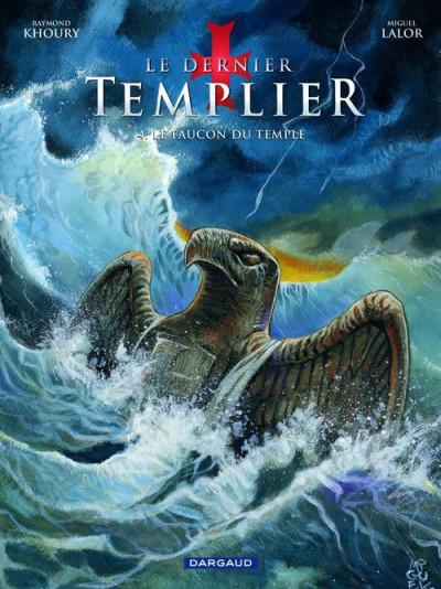 Couverture Le dernier templier tome 4 - le faucon du temple