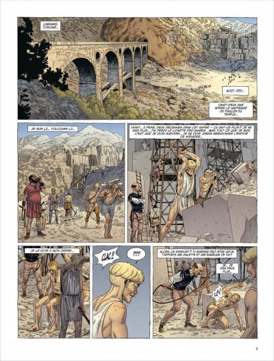 Page 2 Le dernier templier tome 4 - le faucon du temple
