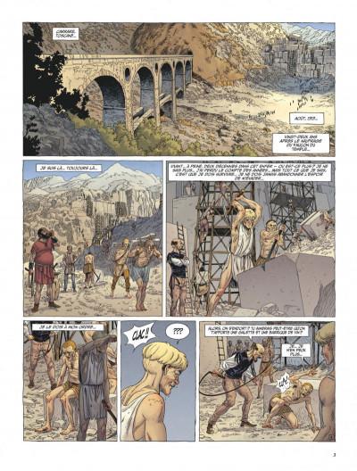 Page 3 Le dernier templier tome 4 - le faucon du temple