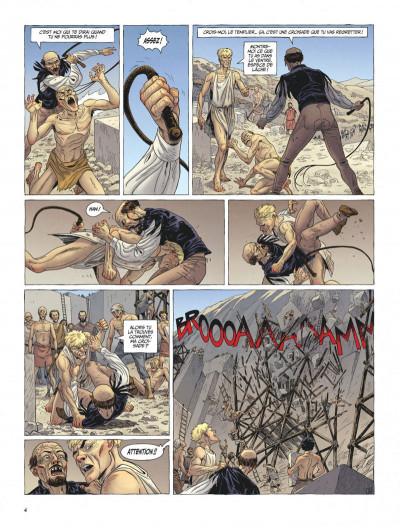 Page 4 Le dernier templier tome 4 - le faucon du temple