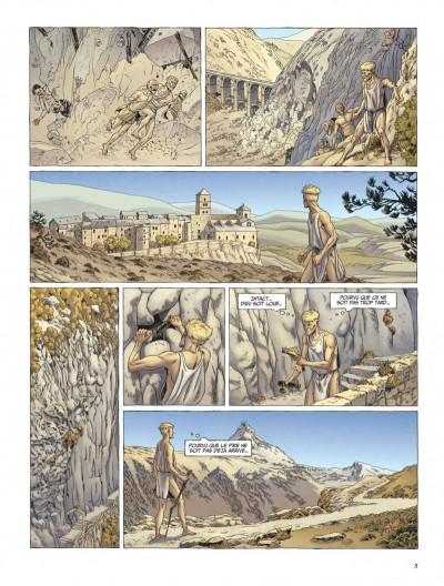 Page 5 Le dernier templier tome 4 - le faucon du temple