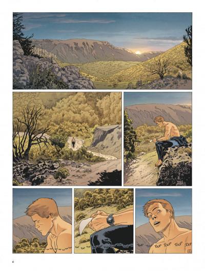 Page 6 Le dernier templier tome 4 - le faucon du temple