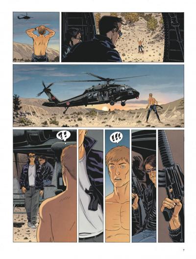 Page 7 Le dernier templier tome 4 - le faucon du temple