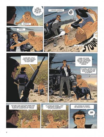 Page 8 Le dernier templier tome 4 - le faucon du temple