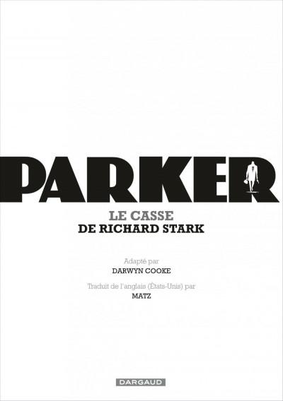 Page 4 Parker tome 3 - le casse