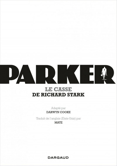 Page 5 Parker tome 3 - le casse