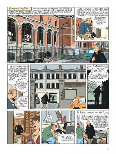 Page 3 Le perroquet des batignolles tome 2