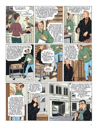 Page 5 Le perroquet des batignolles tome 2