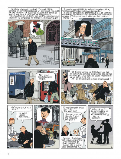 Page 6 Le perroquet des batignolles tome 2