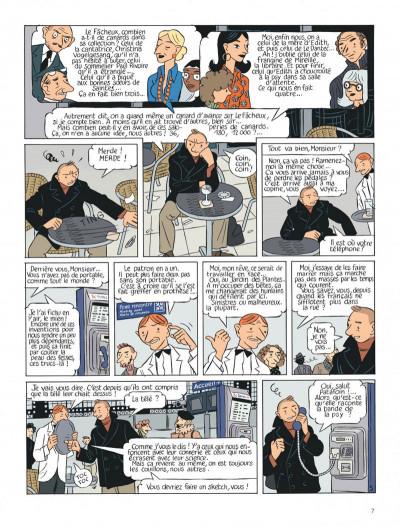 Page 7 Le perroquet des batignolles tome 2