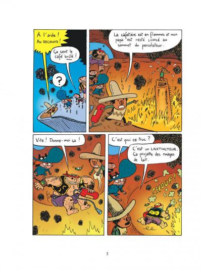 Page 5 Sardine de l'espace tome 11 - l'archipel des hommes-sandwichs