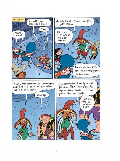 Page 6 Sardine de l'espace tome 11 - l'archipel des hommes-sandwichs