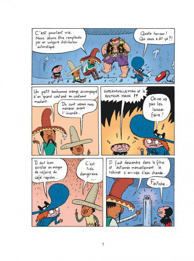 Page 7 Sardine de l'espace tome 11 - l'archipel des hommes-sandwichs