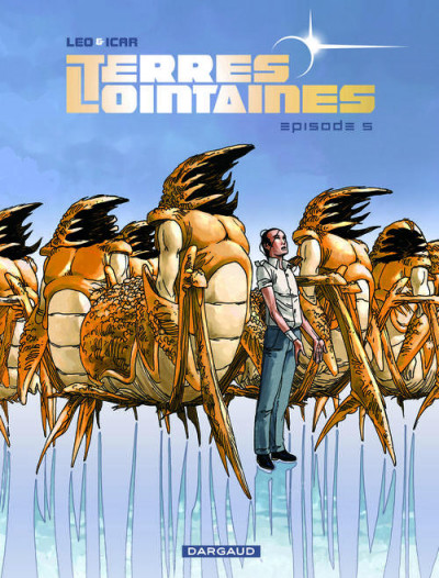Couverture Terres lointaines tome 5