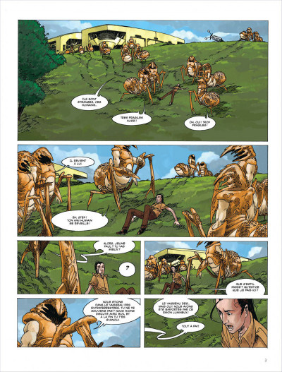 Page 3 Terres lointaines tome 5