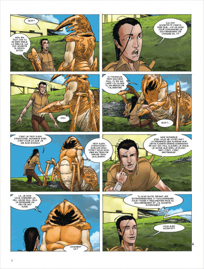 Page 6 Terres lointaines tome 5