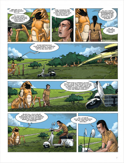 Page 7 Terres lointaines tome 5