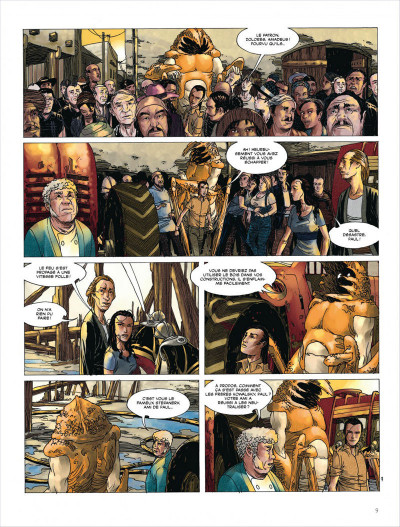 Page 9 Terres lointaines tome 5