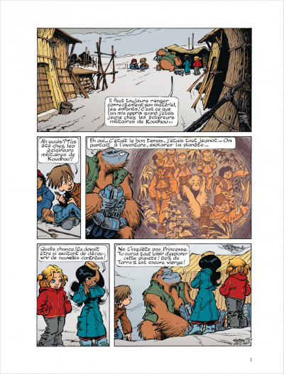 Page 2 Fugitifs sur Terra ii tome 4