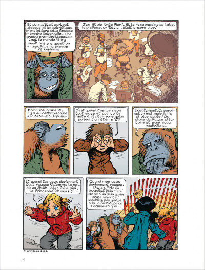 Page 4 Fugitifs sur Terra ii tome 4