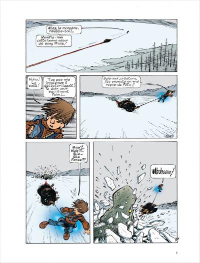 Page 9 Fugitifs sur Terra ii tome 4