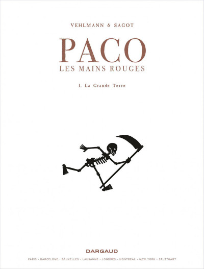 Page 1 Paco les mains rouges tome 1