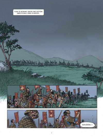 Page 3 Le masque aux mille larmes tome 1