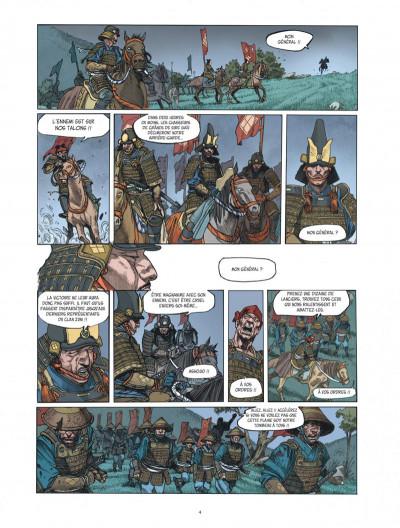 Page 4 Le masque aux mille larmes tome 1