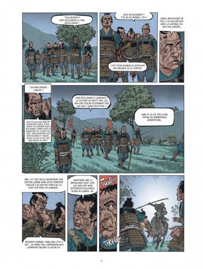 Page 5 Le masque aux mille larmes tome 1
