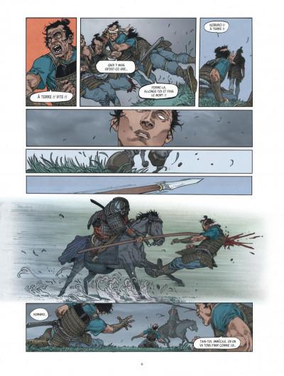 Page 6 Le masque aux mille larmes tome 1
