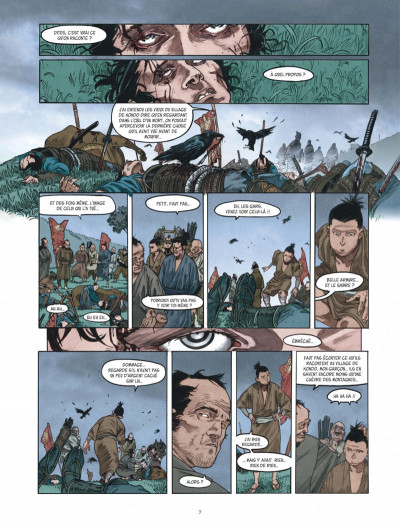 Page 7 Le masque aux mille larmes tome 1