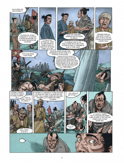 Page 8 Le masque aux mille larmes tome 1