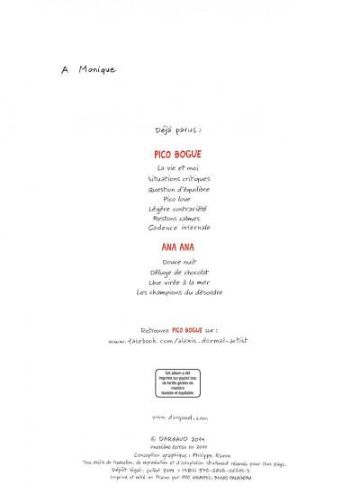 Page 2 Pico bogue tome 5 - légère contrariété