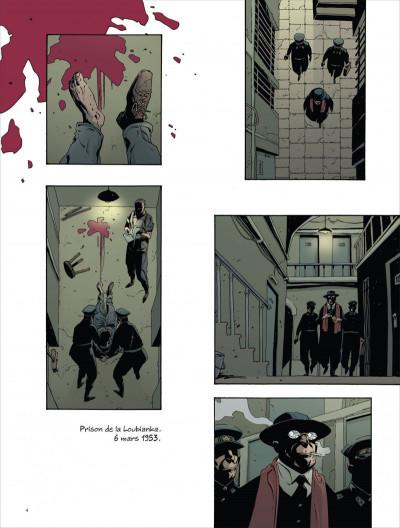 Page 4 la mort de staline tome 2 - Funérailles