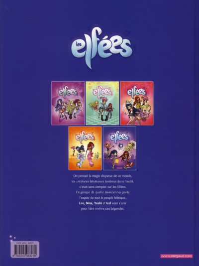 Dos Les elfées tome 5
