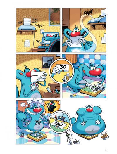 Page 3 Oggy et les cafards tome 3 - bip... bip... bip...