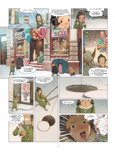 Page 8 Le rêve du papillon tome 4 - hamster au printemps