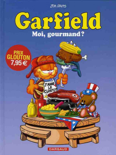 Couverture Garfield tome 46 - moi, gourmand ?