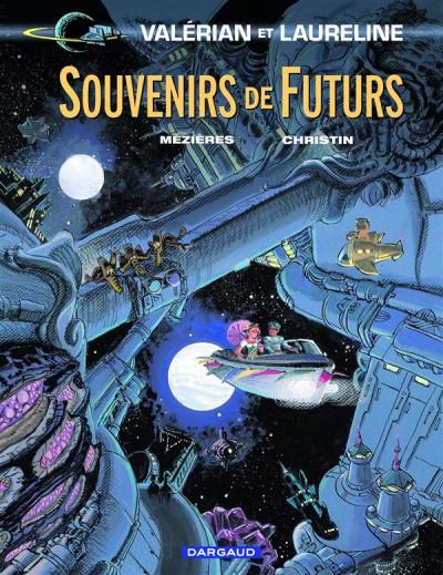 Couverture Valérian tome 22 - souvenirs de futurs