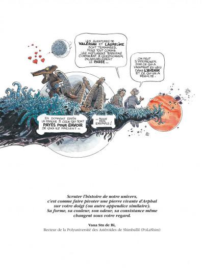 Page 3 Valérian tome 22 - souvenirs de futurs