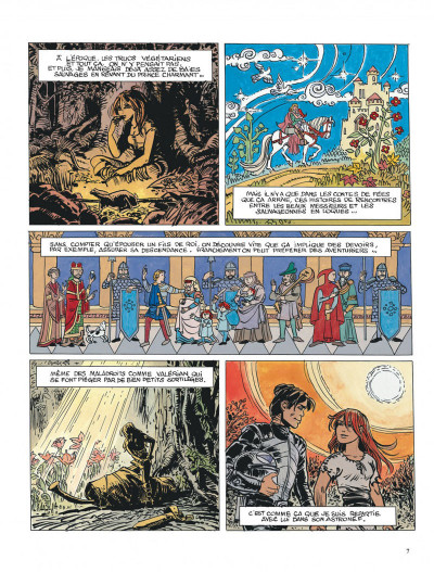 Page 7 Valérian tome 22 - souvenirs de futurs