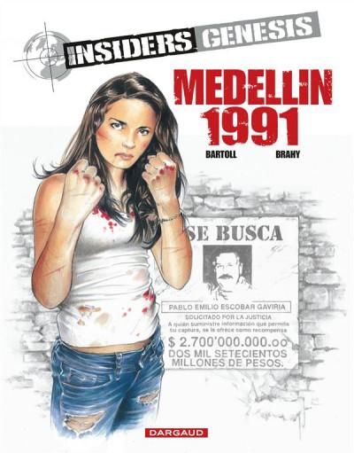 image de Insiders genesis tome 1 - Medellin 1991