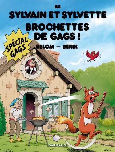image de Sylvain et Sylvette tome 58 - brochettes de gags