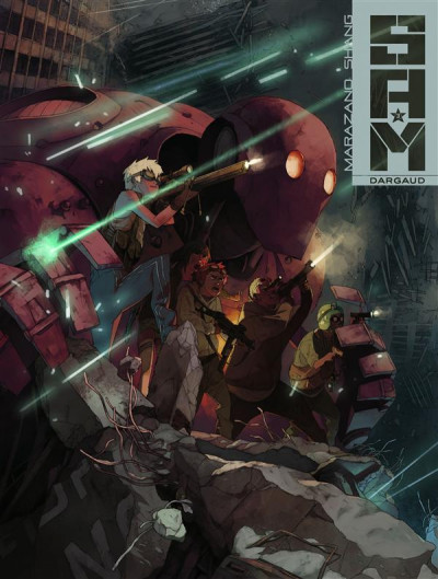 Couverture S.A.M. tome 3