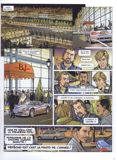 Couverture Dantès tome 1 - édition spéciale promo
