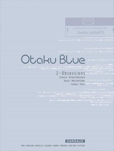 Page 1 Otaku blue tome 2 - obsessions