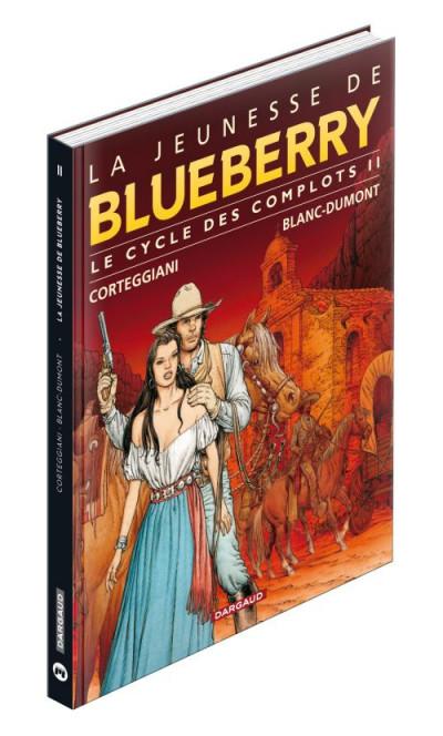Couverture la jeunesse de Blueberry - intégrale magnum le cycle des complots tome 2 - tomes 14 à 17