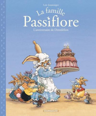 Couverture La famille passiflore tome 1 - L'anniversaire de Dentdelion