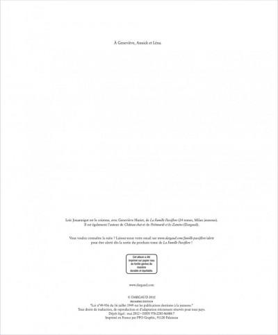 Page 1 La famille passiflore tome 1 - L'anniversaire de Dentdelion